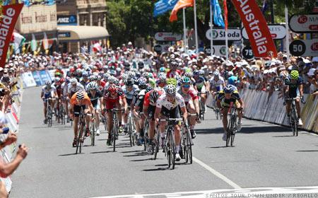 2011 Tour Down Under - Sprint Finish