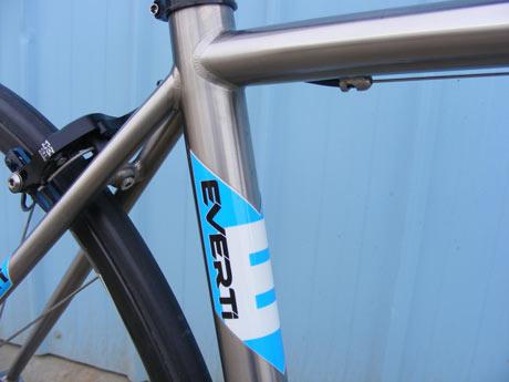 Everti Titaium Bicycle: Eagle