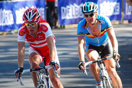 2010 UCI World Championships Melbourne Elite Mens Road Race