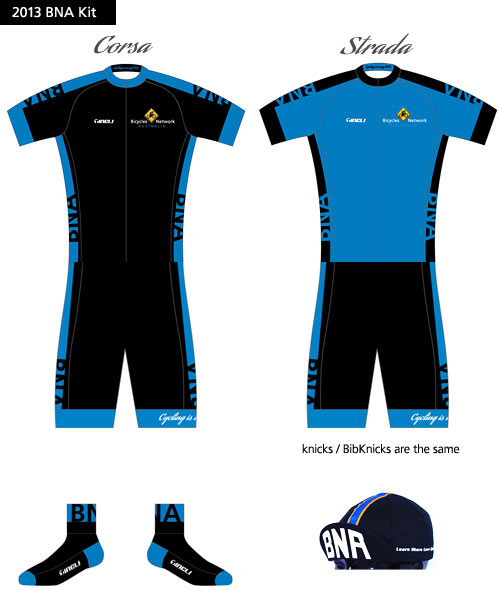 2013 BNA Cycling Kit