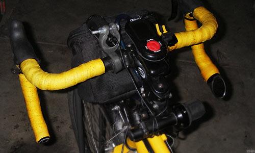 Arundel Yellow Cork Bartape Cockpit