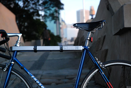 TiGr Bicycle Lock, Australia