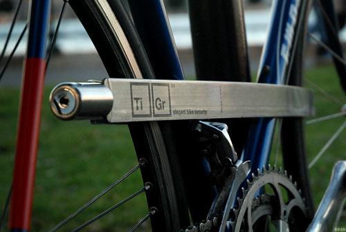 TiGr Titanium Bicycle Lock Cylinder