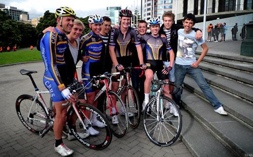 Tour of New Zealand Christchurch Boys High School Team