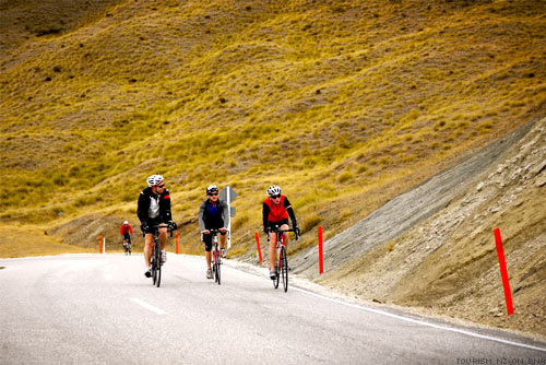 The Tour of New Zealand Road Cycling