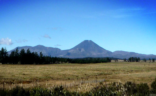 Tour of New Zealand Mount Ngauruhoe