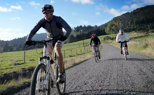 Tour of New Zealand Ohakune Mountain Biking