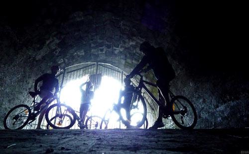 Tour of New Zealand Ohakune Tunnel
