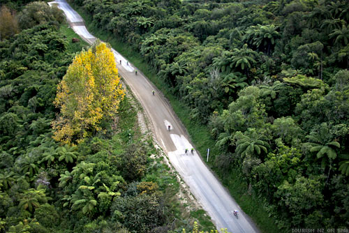 Tour of New Zealand Road to Pipriki