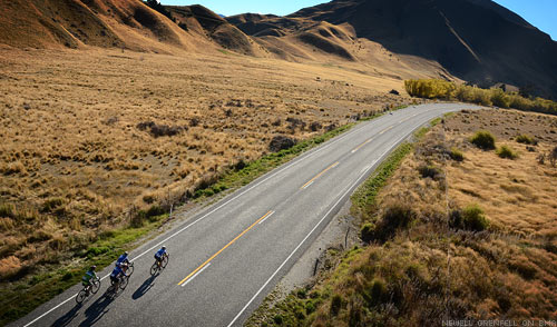 The Tour of New Zealand - South Island