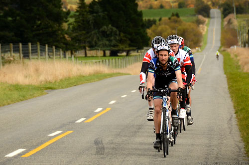 The Tour of New Zealand - South Island Cycling