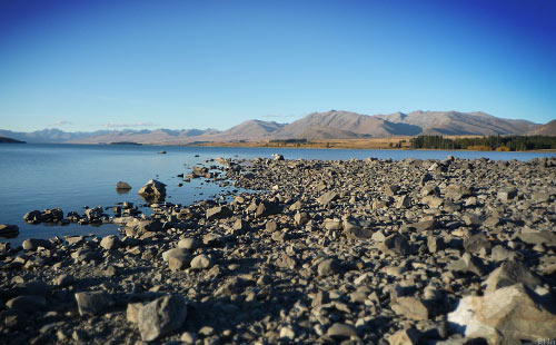 The Tour of New Zealand - Lake Tekapo