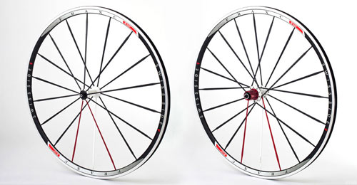 Front and rear Swiss Side Franc Wheelset