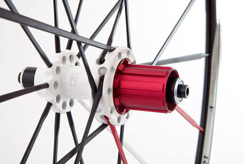 Freewheel on the road cycling Swiss Side Francs wheelset