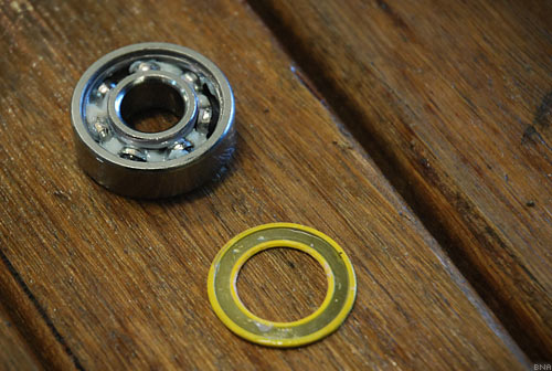 Boca Hybrid Ceramic Yellow Seal Bearing
