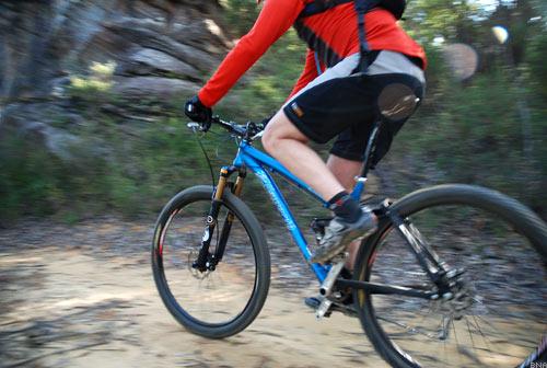 Ellsworth Evolveon on Sandy Sydney Trails