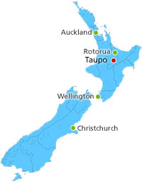 New Zealand Taupo North Island