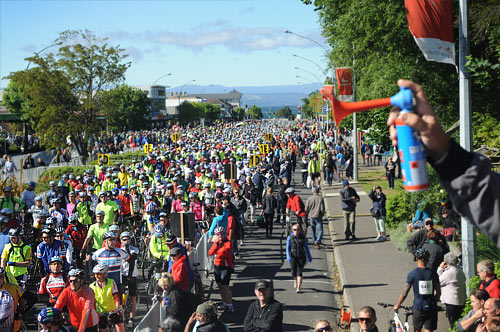 Lake Taupo Cycle Challenge Start