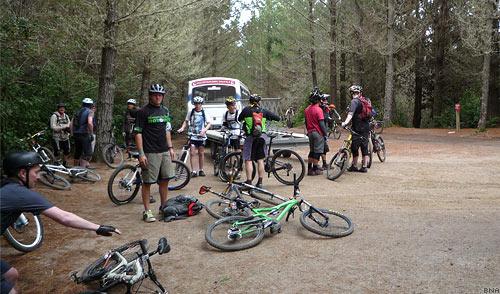 Bike Shuttle in Rotorua