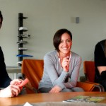 Sean Wilkinson, Tania Sanchez and Michael Lelliot at KNOG headquaters in Melbourne