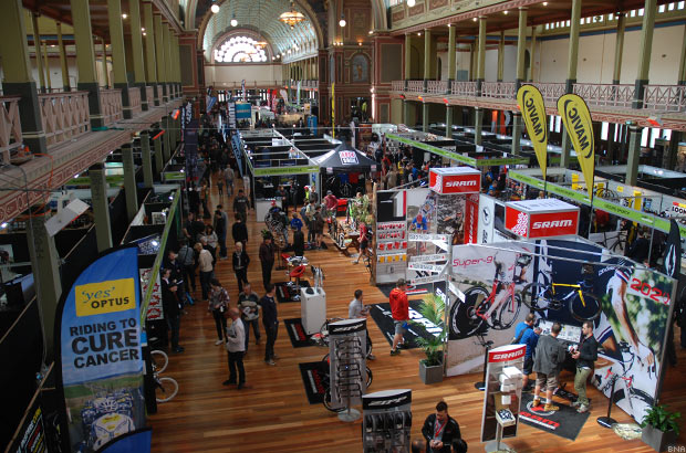 View of the Exhbitition Halls at Ausbike
