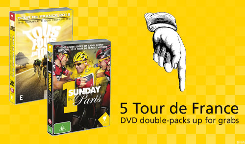 Tour de France DVD Giveaway