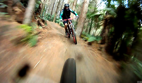 Mountain Biking in Rotorua Video
