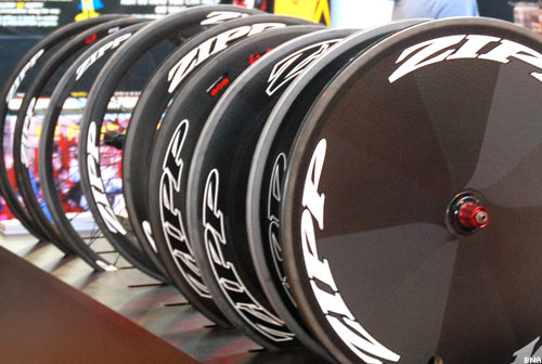 Zipp range of Road Racing Wheels