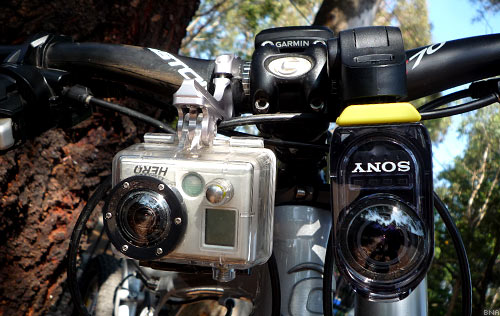 Sony Action Cam and GoPro Hero2 Test