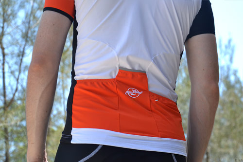 Sumattory Hermida Orange Stripe Cycling Jersey Elite
