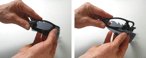 Oakley Sunglasses Removing and Changing the Lense