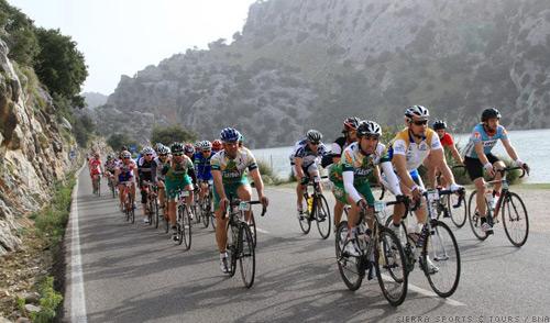 Australian GreenEDGE Spanish Training Majorca