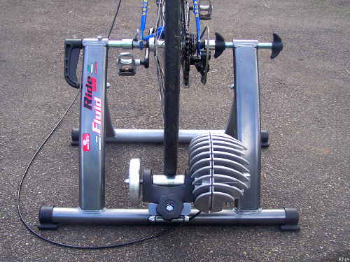 Indoor Inside Home Cycling Fluid Trainer Gist