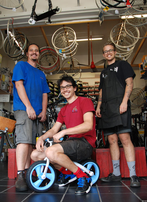 Glow Worm Bicycles ebike shop