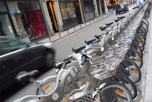 Paris ebike scheme hire