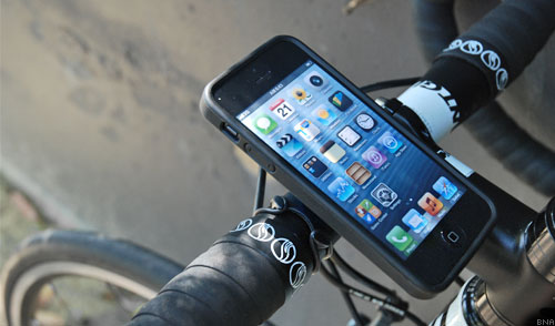 Quadlock iPhone Bike Case Holder