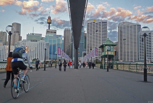 Sydney City Cycle paths