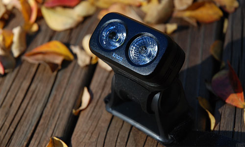 Knog Helmet Mount Road light blinder