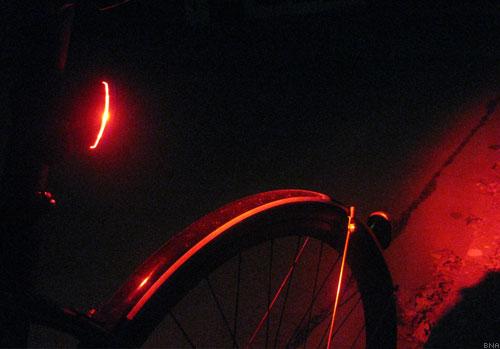 Bright Rear Red Bike Light