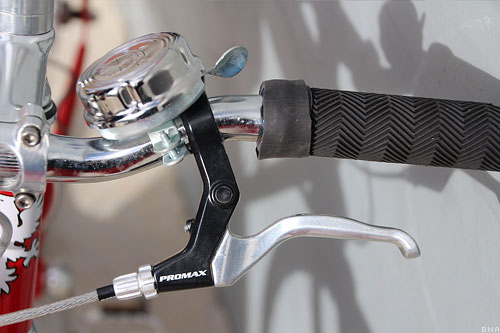 Reid Cycles Harrier Grips Brakes