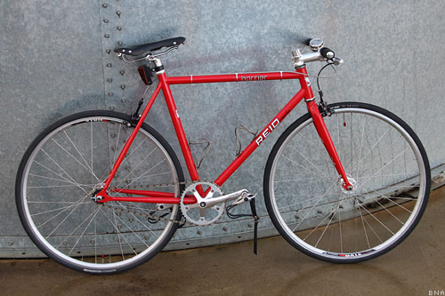 Reid Cycles Harrier Singlespeed Fixie City