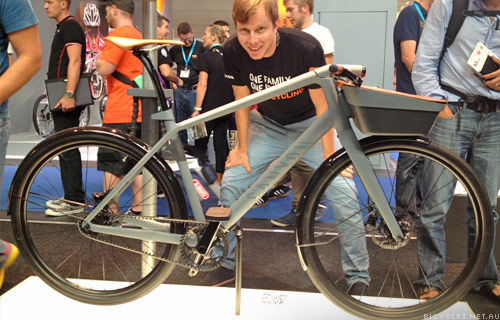 Eurobike Sebastian Wegerle Canyon Concept Bike