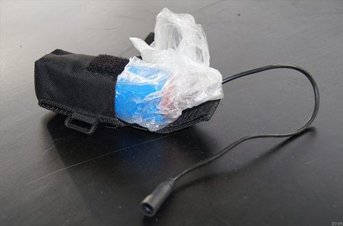 Cardboard battery waterproof