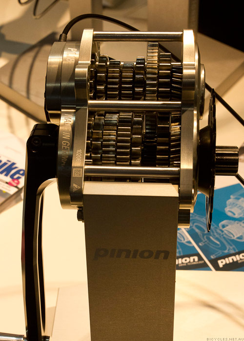Eurobike Pinion P1.18 Gearbox - with 18 gears