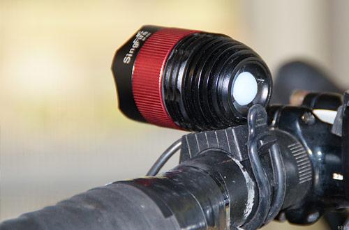 Singfire light bike handlebar mounted