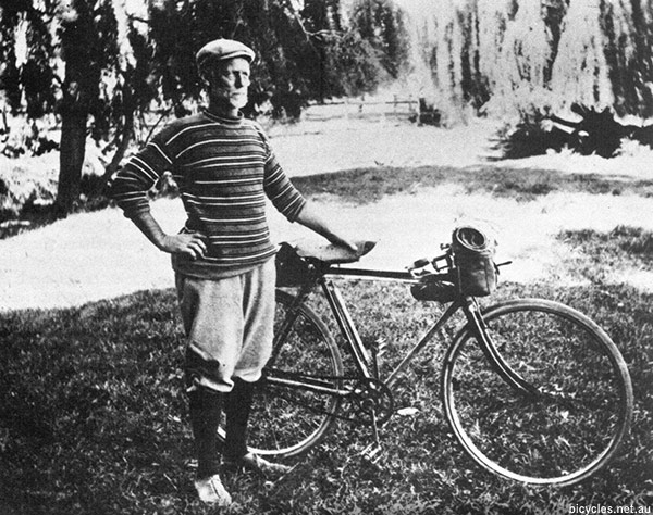 Joseph Pearson Cycling History Kosciusko