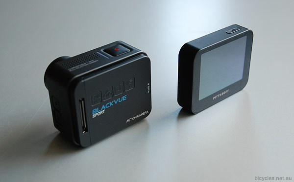 Blackvue Sports Camera Removable Display