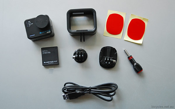 Complete Bike Action Cam Cycling Bike