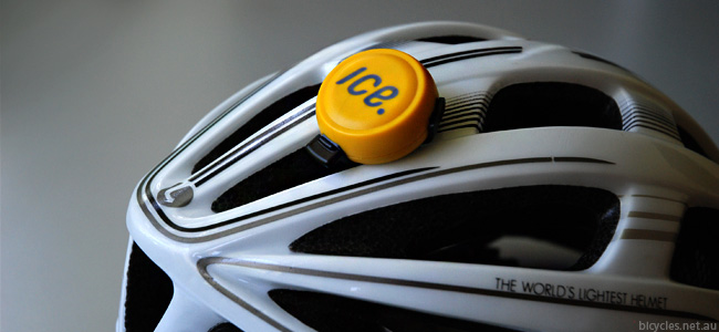 IceDot Bicycle Helmet Crash Sensor