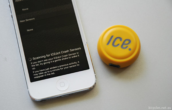 Icedot Low Energy Bluetooth iPhone